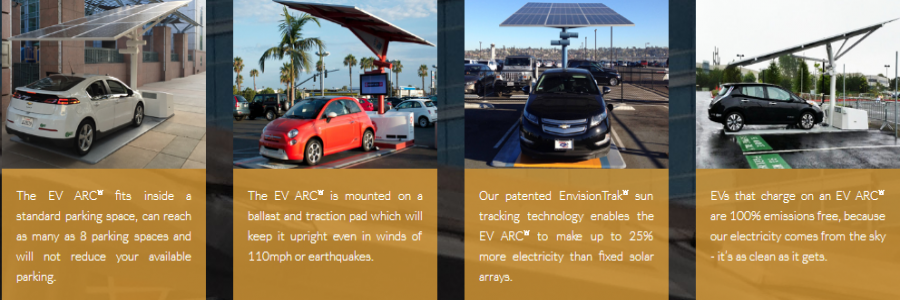 California university orders EV ARC transportable EV charging station